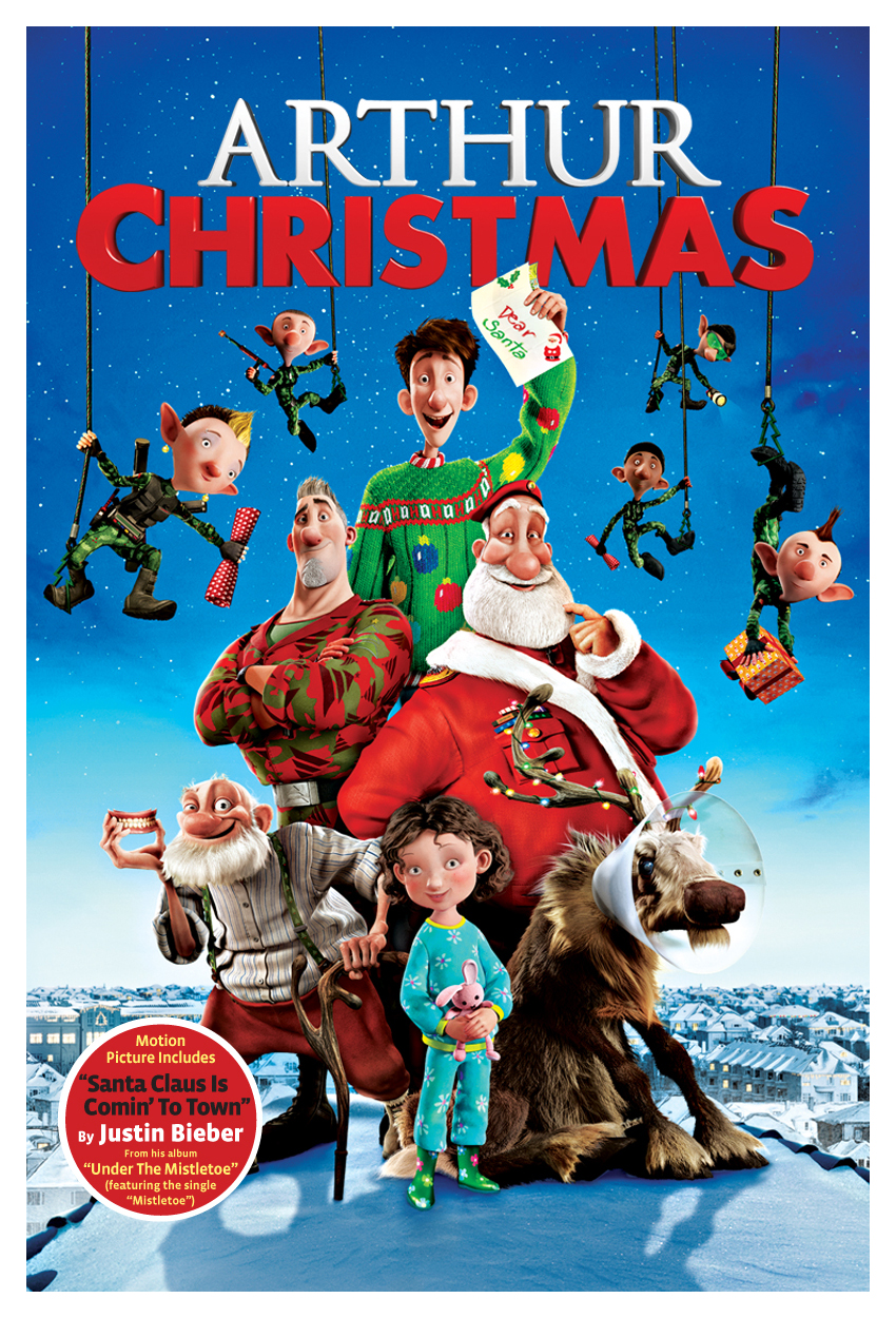 arthur christmas dvd postjpg - Arthur Christmas Full Movie Online