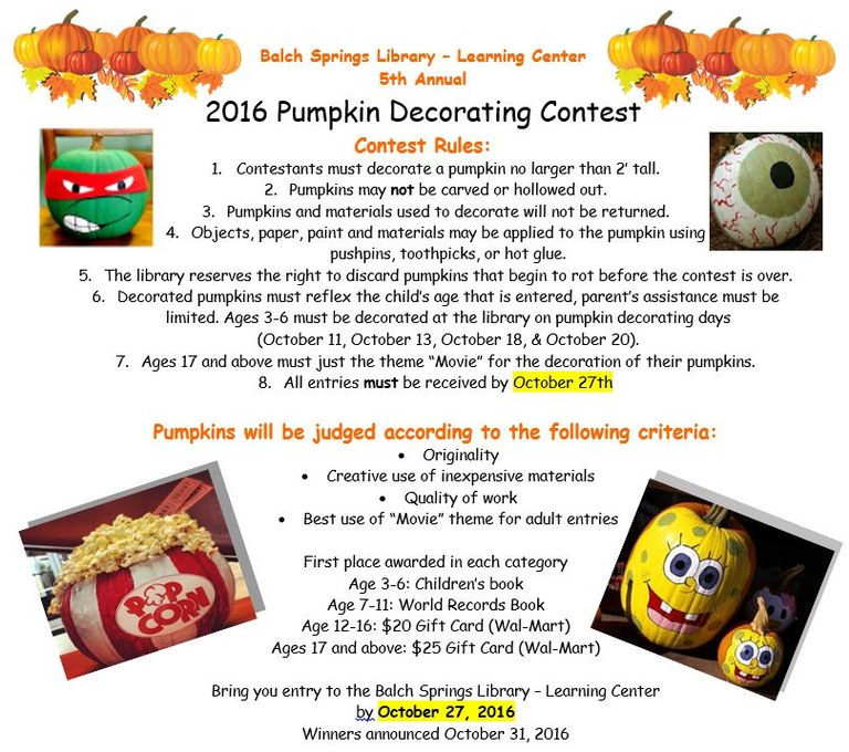 Pumpkin decortating contest 2016.JPG